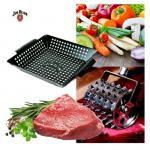 Jim Beamer Wok + Steaker 2-er Set BBQ Grillen