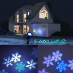 X4-Life LED Strahler Outdoor Schneeflocke V2.0 IP64 Beleuchtung Projektor 4 Watt