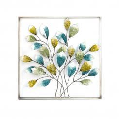 5 cm 86 cm T = ca 89 cm B = ca Wanddekor Baum Brillar Metall H = ca