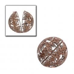 Pflanzkugel 2-er Set Peso zum Hängen Gartenkugel Hängekugel Metall D 25//30 cm