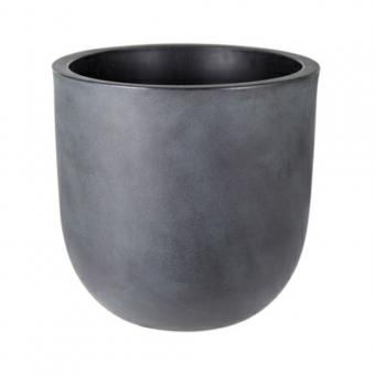 Rinca Uovo Vintage Grau Blumentopf innen + aussen D 46 cm H 43 cm