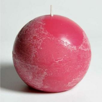 cornbay shop candle kerze kugelkerze d 10 5 cm pink 6 er set kaufen