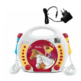X4-TECH Bobby Joey Bibi & Tina CD/MP3-Player incl. Hörspiel und Netzteiladapter