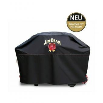 Jim Beam® BBQ Grillabdeckung Premium für mittlere bis große Grills