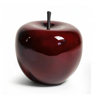 Dekoapfel  Apfel Fiberglas Red D 20 cm, H 18 cm