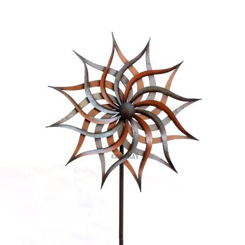 Cornbay shop gartenstecker facella windrad dekoration for Dekoration metall