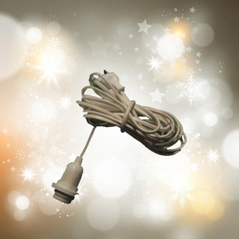 lampenfassung e14 mit 4 m kabel schalter und stecker f r weihnachtsbeleuchtung ebay. Black Bedroom Furniture Sets. Home Design Ideas